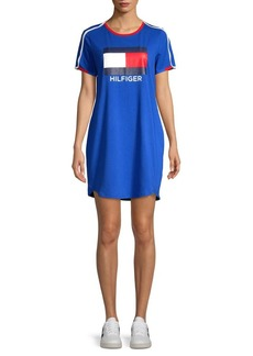 Tommy Hilfiger Performance Short Sleeve Logo Dress