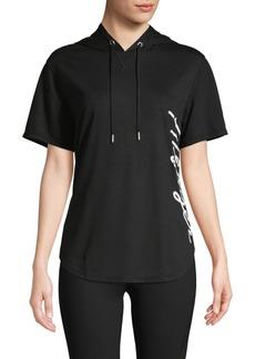 Tommy Hilfiger Performance Short-Sleeve Logo Hoodie Tee