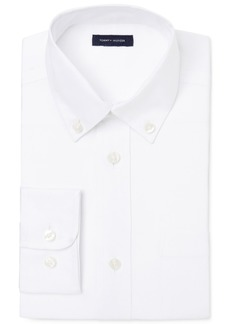 Tommy Hilfiger Pinpoint Oxford Shirt, Little Boys