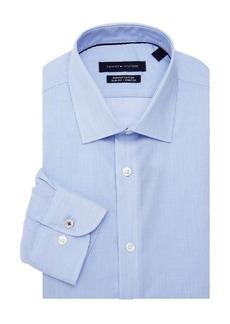 Tommy Hilfiger Slim-Fit Pinstripe Dress Shirt