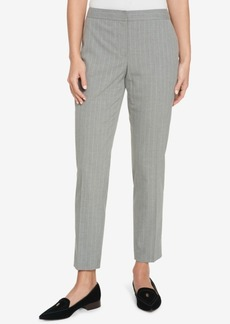 Tommy Hilfiger Pinstriped Ankle Pants