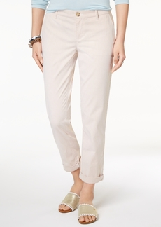 Tommy Hilfiger Pinstriped Chino Pants, Created for Macy's