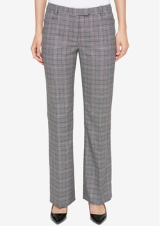 Tommy Hilfiger Plaid Bootcut Pants