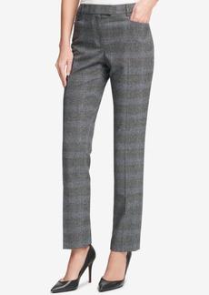 Tommy Hilfiger Plaid Princeton Slim-Fit Pants