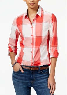 Tommy Hilfiger Plaid-Print Shirt, Only at Macy's
