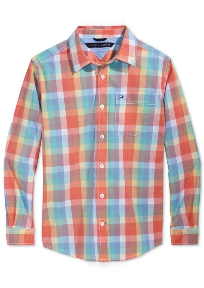 d023adf7f3557 Tommy Hilfiger Tommy Hilfiger Plaid Shirt