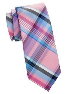 Tommy Hilfiger Plaid Silk Tie