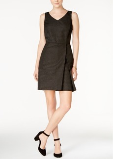 Tommy Hilfiger Pleated A-Line Dress, Only at Macy's