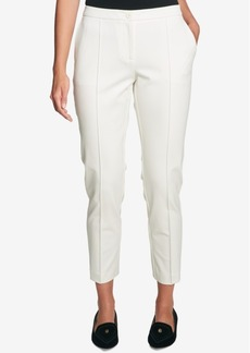 Tommy Hilfiger Pleated Straight-Leg Pants, Created for Macy's