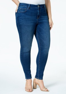 Tommy Hilfiger Plus Size Anchor-Logo-Pocket Skinny Jeans, Created for Macy's
