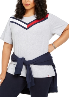 Tommy Hilfiger Sport Plus Size Colorblocked T-Shirt