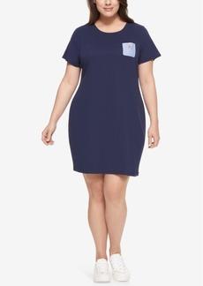 Tommy Hilfiger Plus Size Cotton T-Shirt Dress
