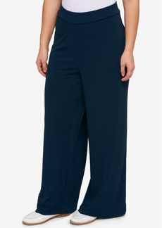 Tommy Hilfiger Plus Size Crepe Pull-On Pants