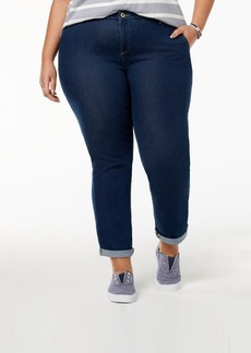 Tommy Hilfiger Plus Size Denim Hampton Ankle Jeans, Created for Macy's