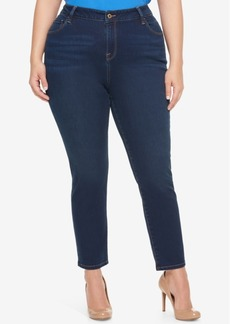 Tommy Hilfiger Plus Size Nocturna Blue Wash Skinny Jeans