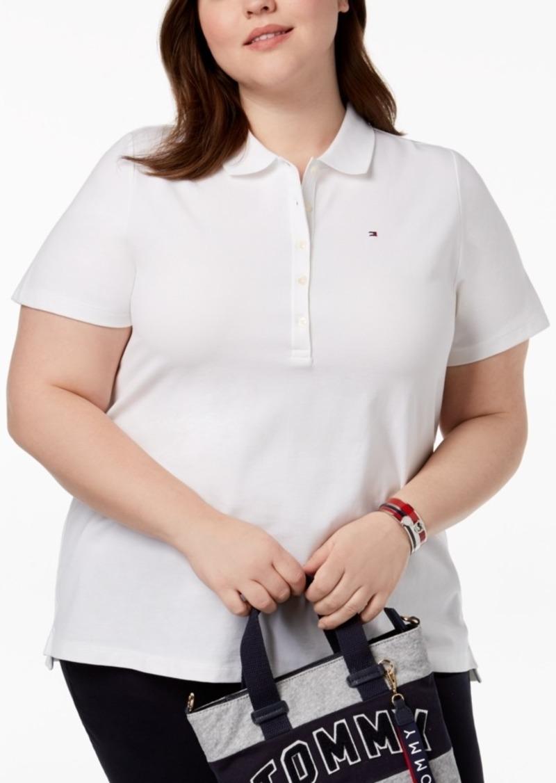 e093dcd32ec2f SALE! Tommy Hilfiger Tommy Hilfiger Plus Size Pique Polo Shirt ...