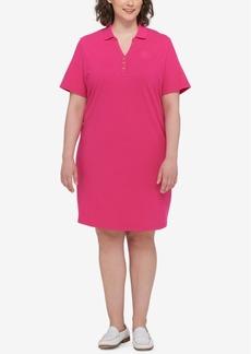 Tommy Hilfiger Plus Size Polo Shirtdress