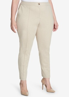 Tommy Hilfiger Plus Size Ponte-Knit Pants