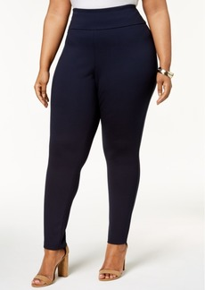 Tommy Hilfiger Plus Size Pull-On Ponte-Knit Pants, Created for Macy's