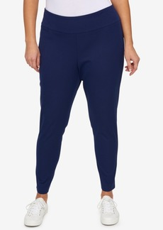 Tommy Hilfiger Plus Size Pull-On Skinny Pants, Created for Macy's