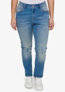 Tommy Hilfiger Plus Size Straight-Leg Jeans