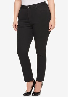 Tommy Hilfiger Plus Size Straight-Leg Jeans, Created for Macy's