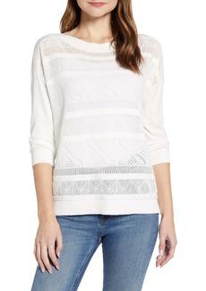 Tommy Hilfiger Pointelle Boatneck Sweater