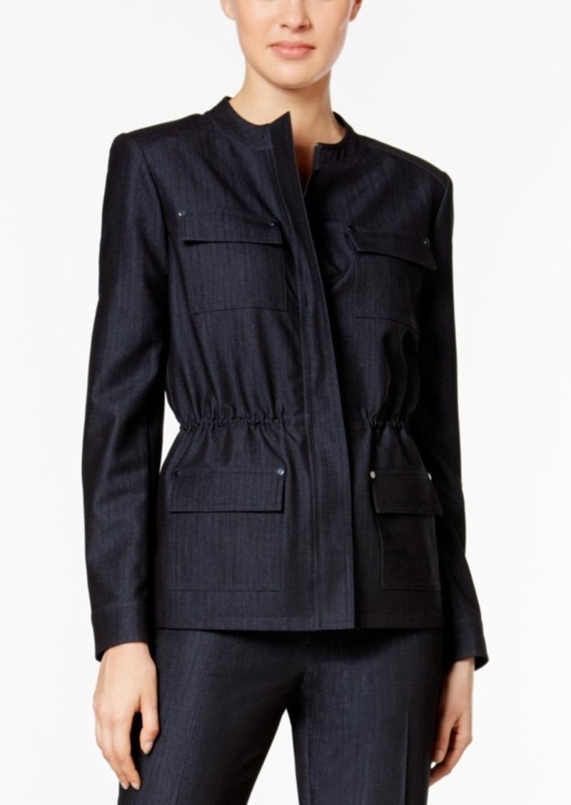 Tommy Hilfiger Polished Denim Bungee Jacket