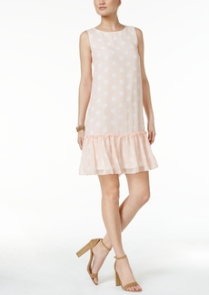 Tommy Hilfiger Polka-Dot Shift Dress
