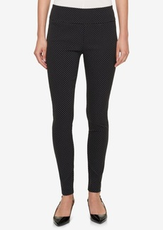 Tommy Hilfiger Polka-Dot Skinny Pants, Created for Macy's