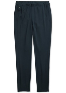 Tommy Hilfiger Adaptive Women's Ponte Leggings with Shorter Front Rise & Higher Back Rise