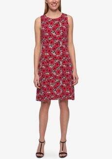 Tommy Hilfiger Poppy-Print Sheath Dress