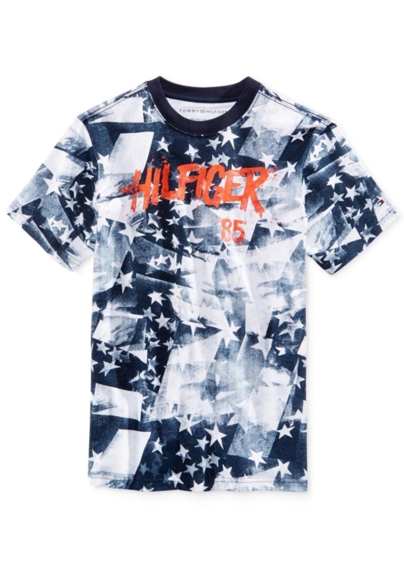 d9a11b47972db Tommy Hilfiger Tommy Hilfiger Print Cotton T-Shirt