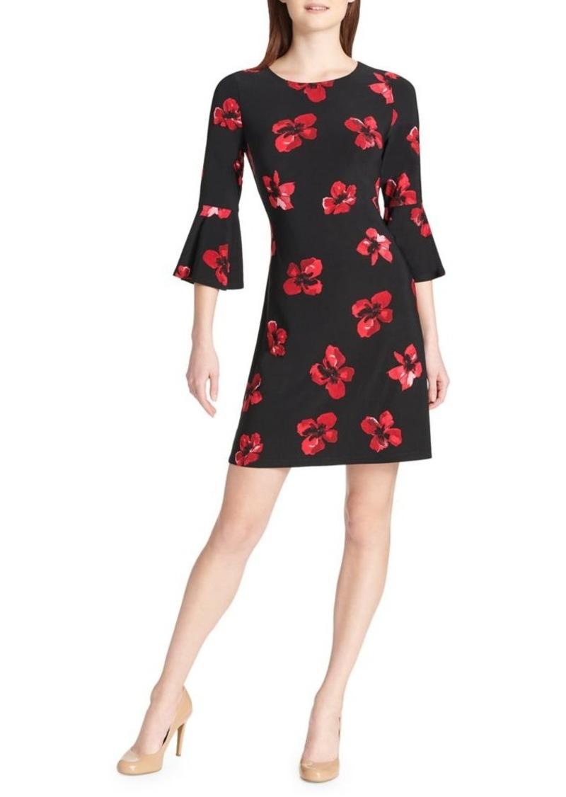 9aaf4be2f Tommy Hilfiger Tommy Hilfiger Printed Bell Sleeve Dress