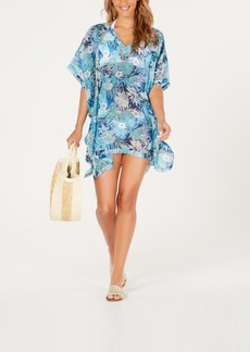 Tommy Hilfiger Printed Chiffon Kaftan Cover-Up Women's Swimsuit