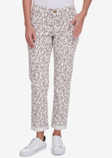 Tommy Hilfiger Printed Hampton Chino Pants, Created for Macy's