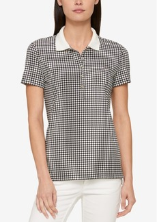 Tommy Hilfiger Printed Polo Top, Created for Macy's