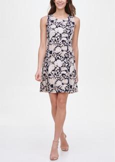 Tommy Hilfiger Printed Shift Dress