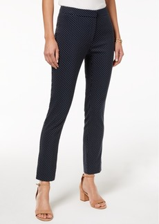 Tommy Hilfiger Printed Skinny Pants, Created for Macy's