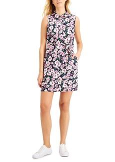 Tommy Hilfiger Printed Sleeveless Cotton Dress