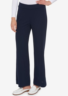 Tommy Hilfiger Pull-On Wide-Leg Pants, Only at Macy's