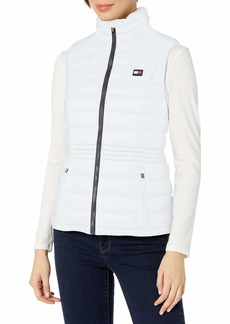 Tommy Hilfiger womens Tommy Hilfiger Women's Outerwear Vest White  US