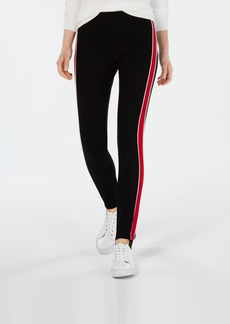 Tommy Hilfiger Racing-Stripe Stirrup Pants, Created for Macy's