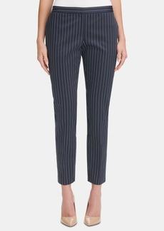 Tommy Hilfiger Radcliff Striped Slim-Leg Pants