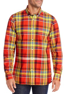 Tommy Hilfiger Regular Fit Flannel Button-Down Shirt