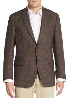 Tommy Hilfiger Regular-Fit Hopsack Wool Sportcoat