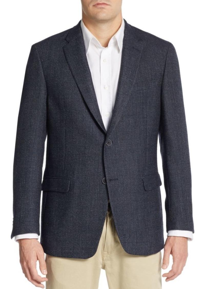 Tommy Hilfiger Regular-Fit Hopsack Wool Sportcoat