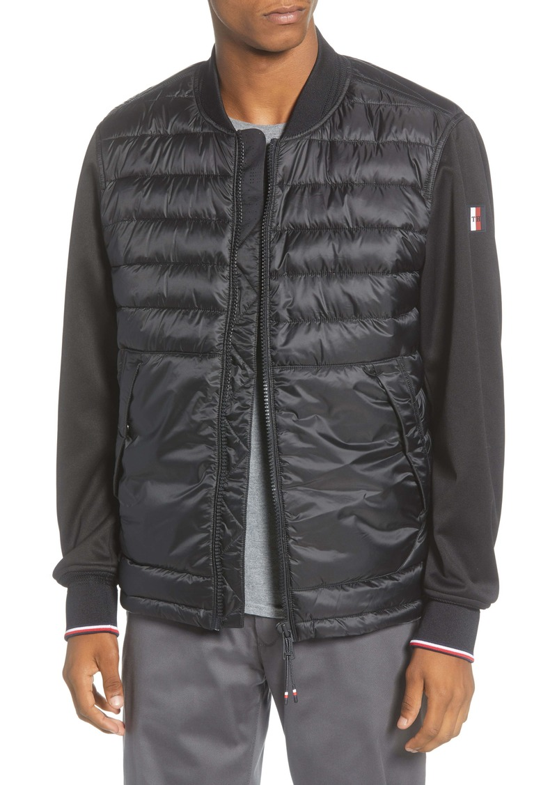 Tommy Hilfiger Regular Fit Water Repellent Bomber Jacket
