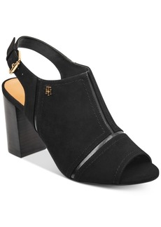 Tommy Hilfiger Relita Block-Heel Dress Sandals Women's Shoes