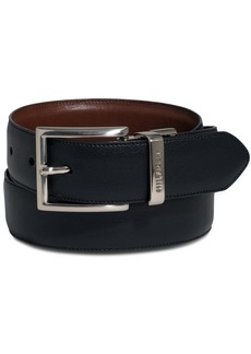 Tommy Hilfiger Men's Big & Tall Reversible Dress Belt
